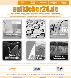 Aufkleber24.de Deutschland