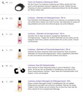 Lovehoney.de Deutschland Bsp Produkte