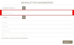 Stilbegeistert.com Deutschland Newsletter
