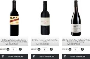 Weinzeche.de Deutschland Bsp Produkte